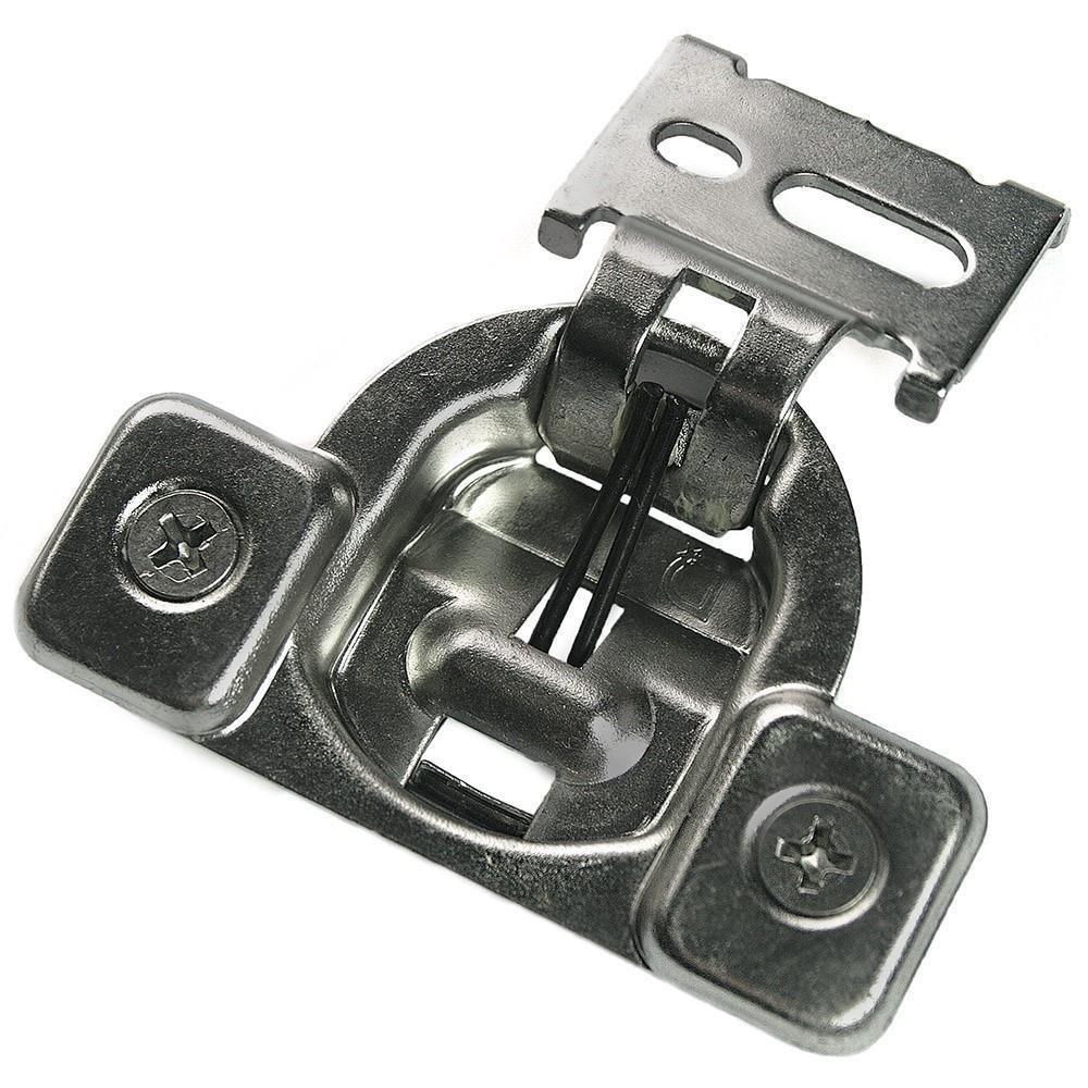 Hickory Nickel Slide-on 100 deg Full Overlay Concealed Euro Hinge P5107-14