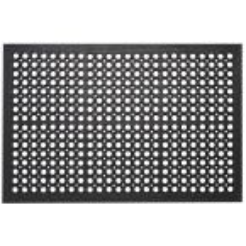 Indoor Outdoor Mats Durable Anti-Fatigue 36 in. x 24 in. Commercial Home Restaurant Bar Drainage Rubber Floor Mat