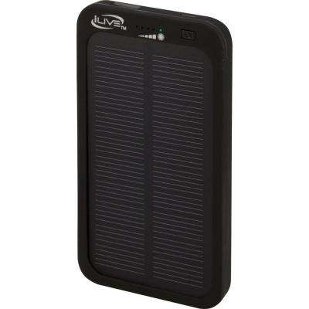 4000 mAh Portable Solar/USB Charger