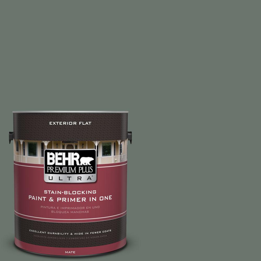 BEHR Premium Plus Ultra 1-gal. #PPU12-18 Heritage Park Flat Exterior Paint