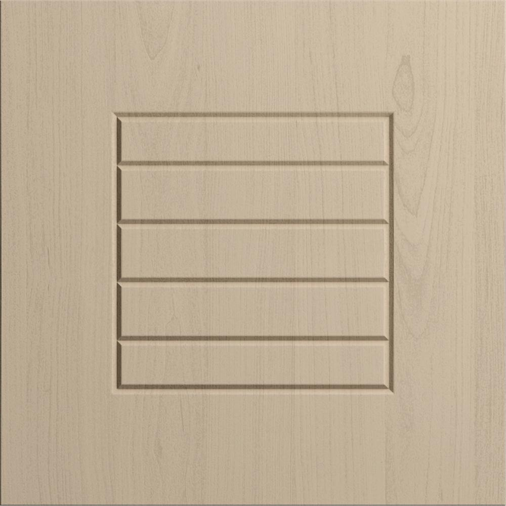 WeatherStrong 12x12 in. Cabinet Sample Door Key West in River Sand