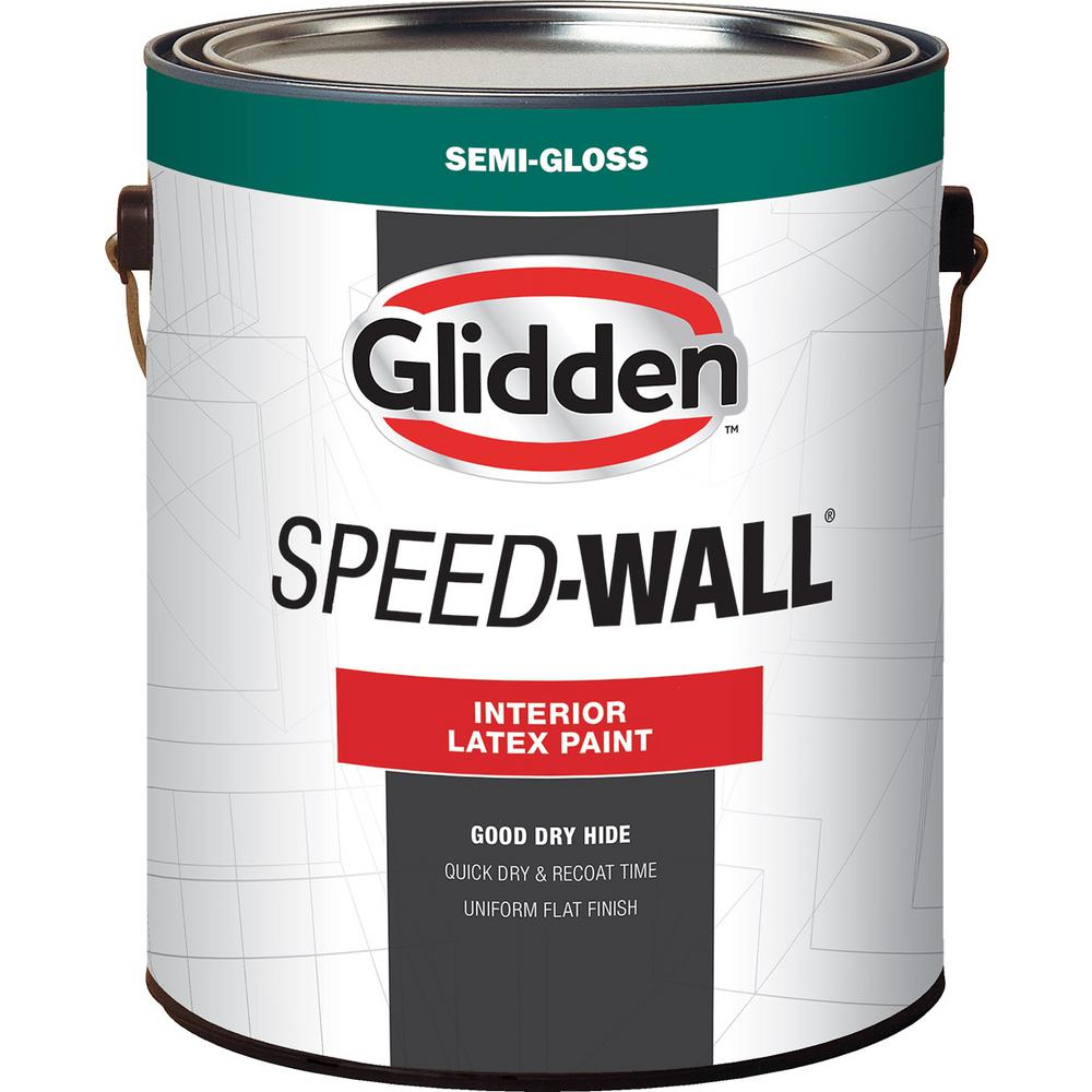 Glidden Professional 1 Gal Sd Wall Semi Gloss Interior Paint