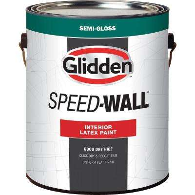 1 gal. Speed-Wall Semi-Gloss Interior Paint