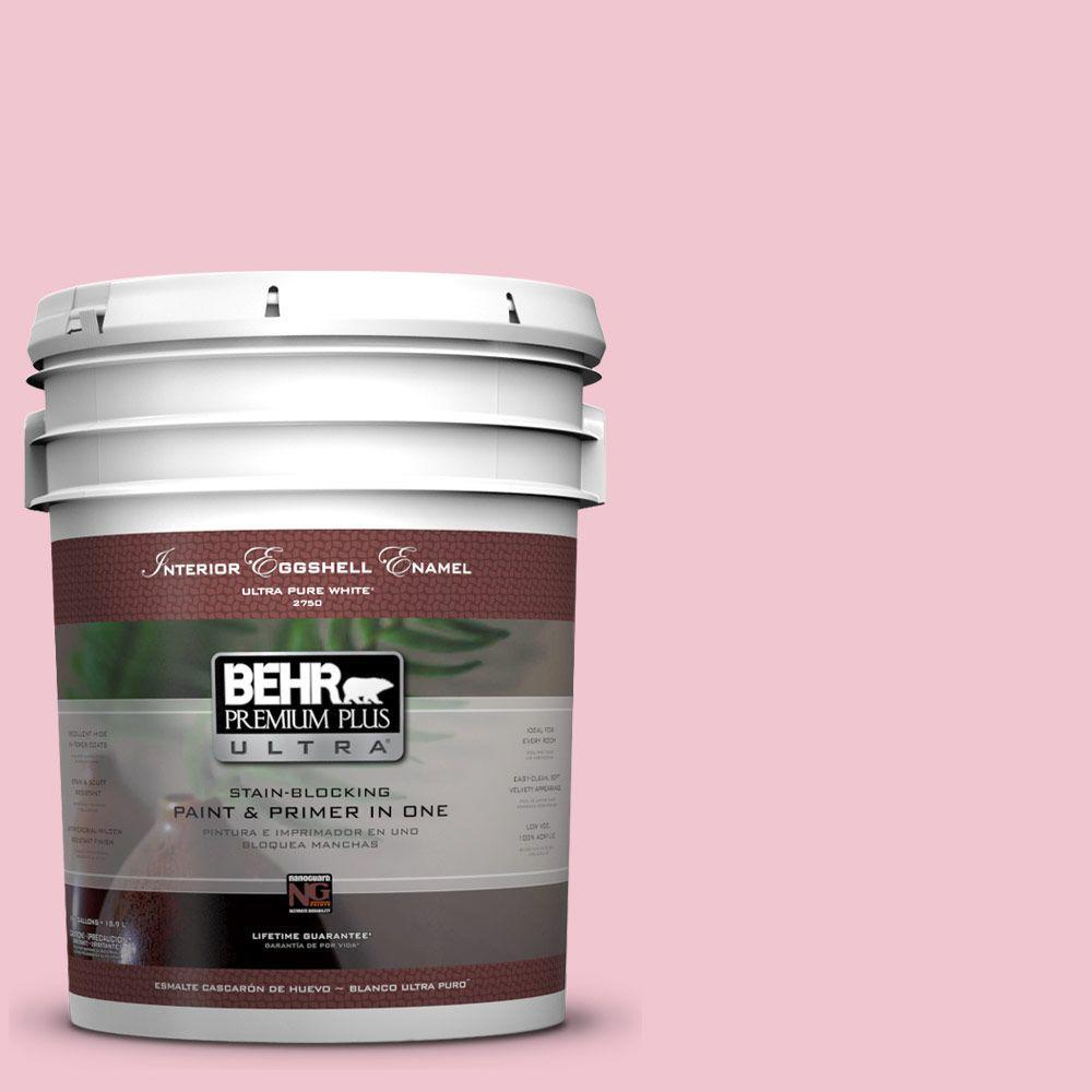 BEHR Premium Plus Ultra 5-gal. #P140-2 Sweetheart Eggshell Enamel Interior Paint