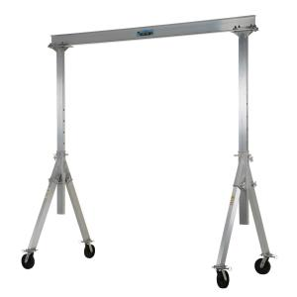 Vestil 2,000 lb. 10 ft. x 8 ft. Adjustable Aluminum Gantry Crane by Vestil