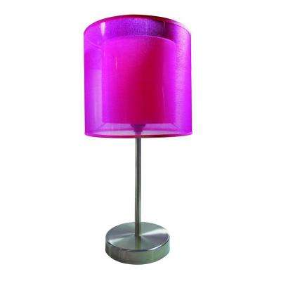 19.5 in. Pink Table Lamp