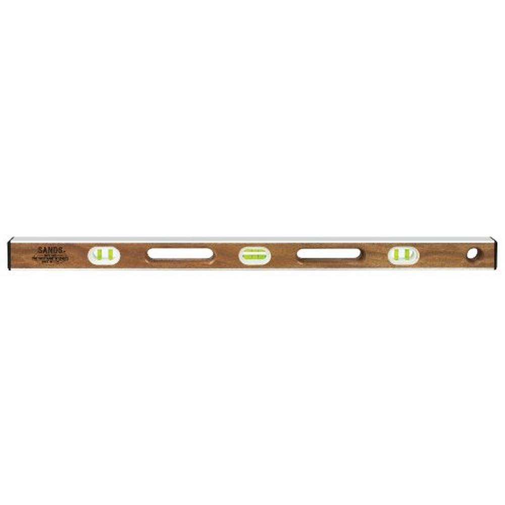 36 in. Professional Mahogany I-Beam Level (6 Vials)