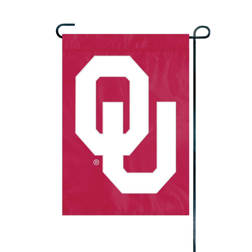 Oklahoma Sooners Premium Garden Flag