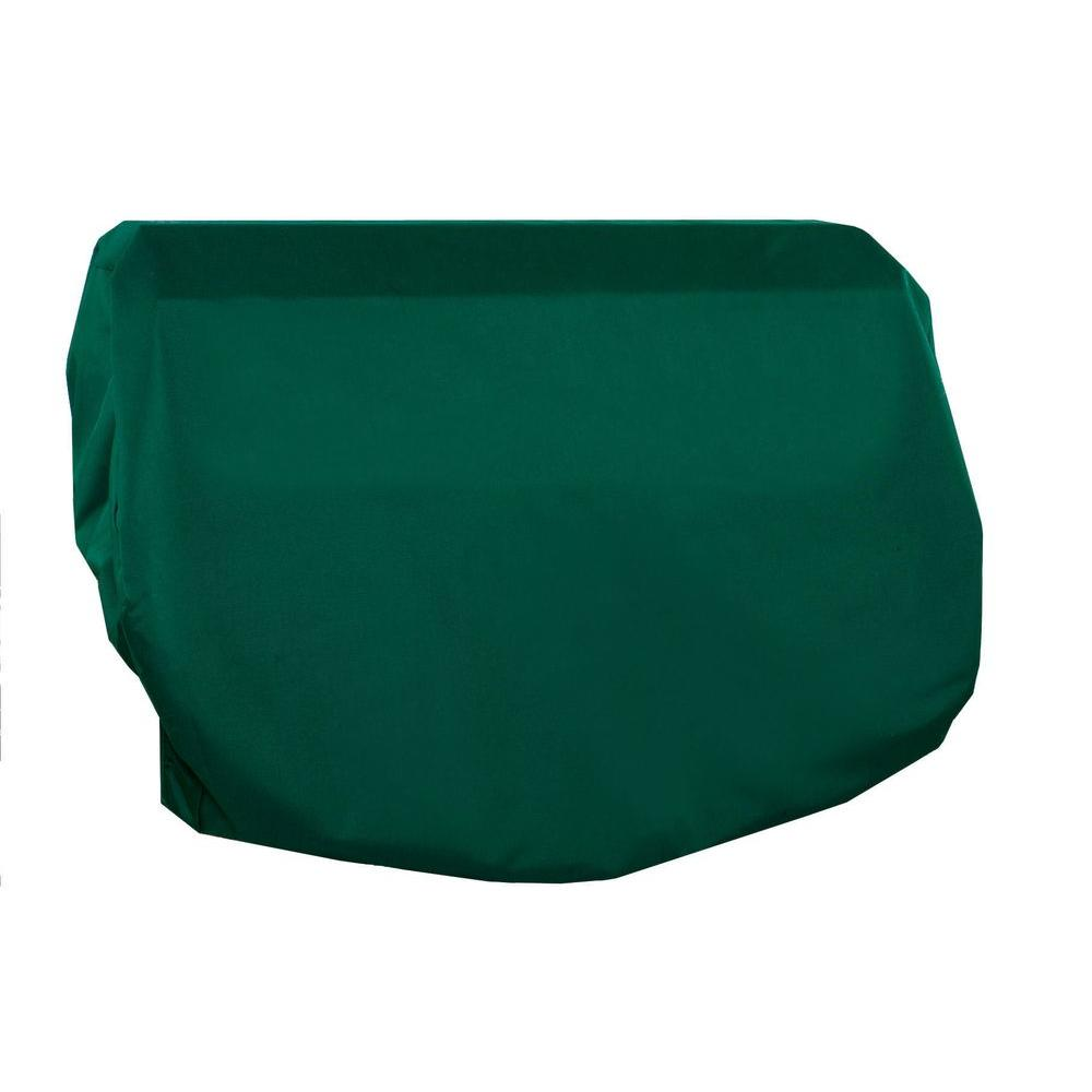 Two Dogs Designs 44 in. Grill Top Cover, Hunter Green-DISCONTINUED