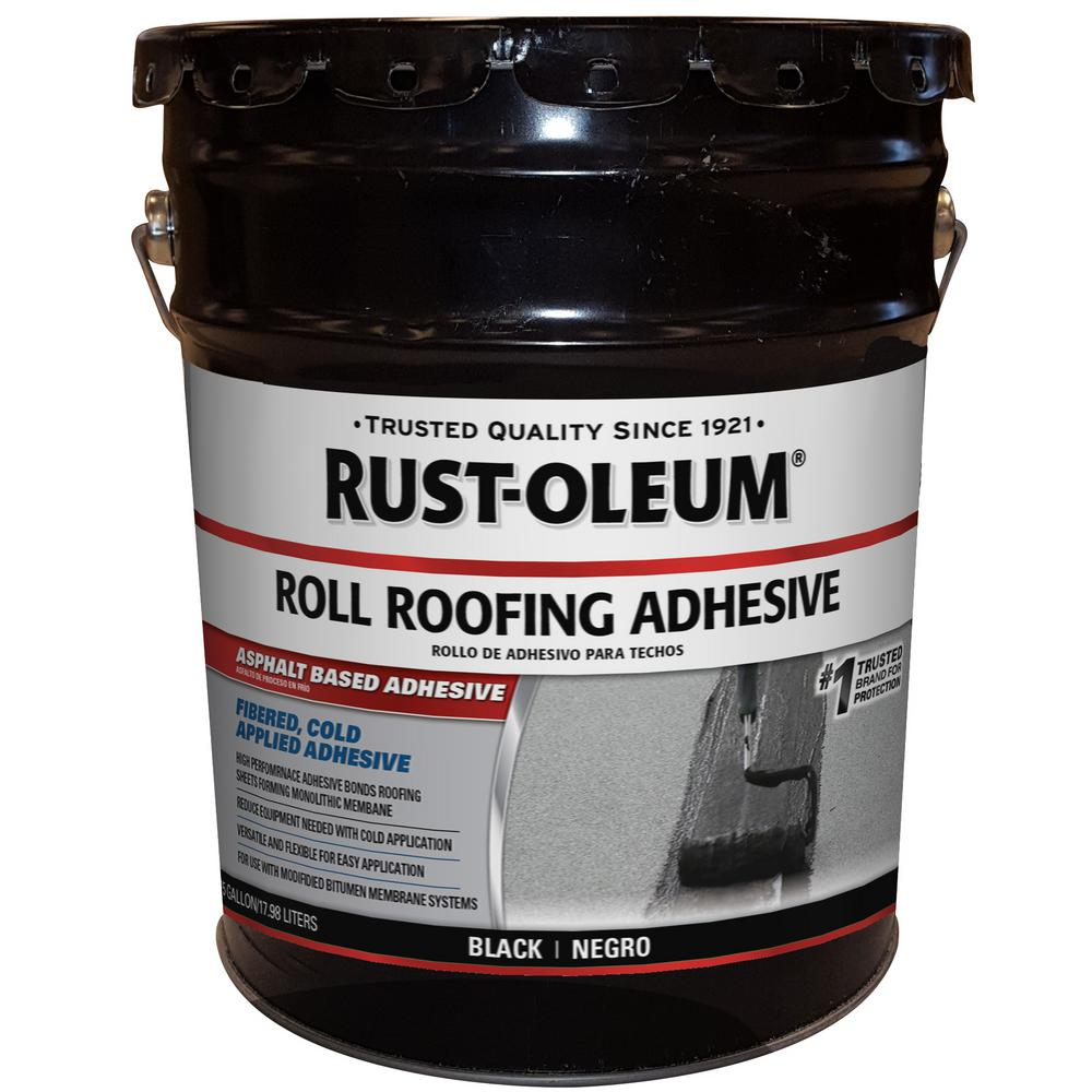 Rust-Oleum 4.75 Gal. Roll Roof Adhesive Sealant