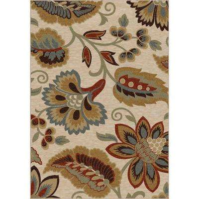 Dooley Khaki 5 ft. 3 in. x 7 ft. 6 in. Area Rug