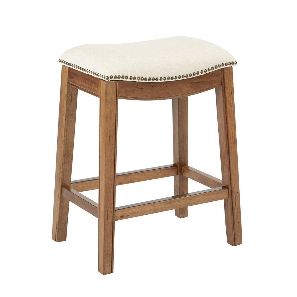 Austin 26.25 in Linen Bar stool