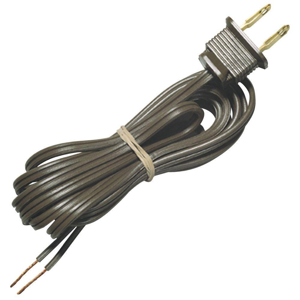 8 ft. SPT-1 Brown Cord Set