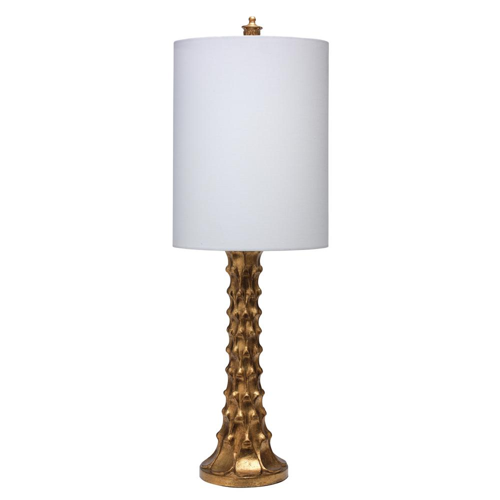 29 in. Gold Silver Tara Table Lamp with Shade
