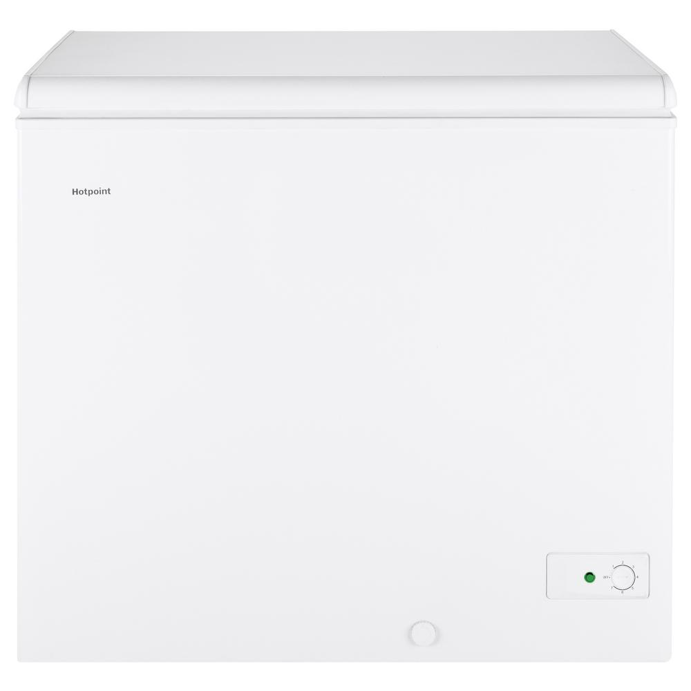 Hotpoint 7.1 Cu. Ft. Manual Defrost Chest Freezer