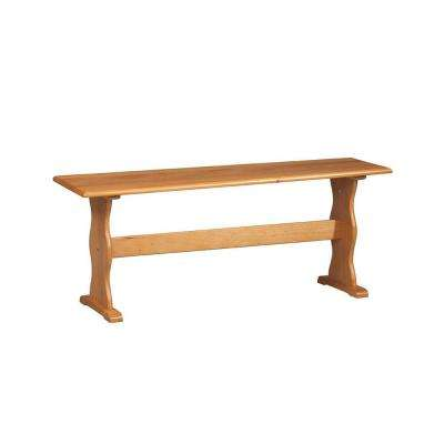 Chelsea 1- Piece Natural Wood Dining Bench