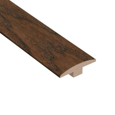 Wire Brushed Benson Hickory 3/8 in. Thick x 2 in. Wide x 78 in. Length T-Molding