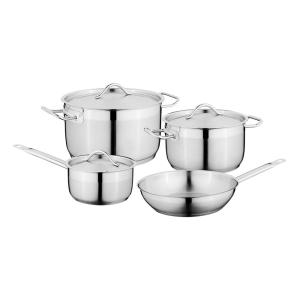 Hotel 7-Piece 18/10 Stainless Steel Cookware Set