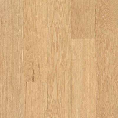 Take Home Sample - Elegance Collection White Oak Natural Engineered Hardwood Flooring - 5 in. x 7 in.