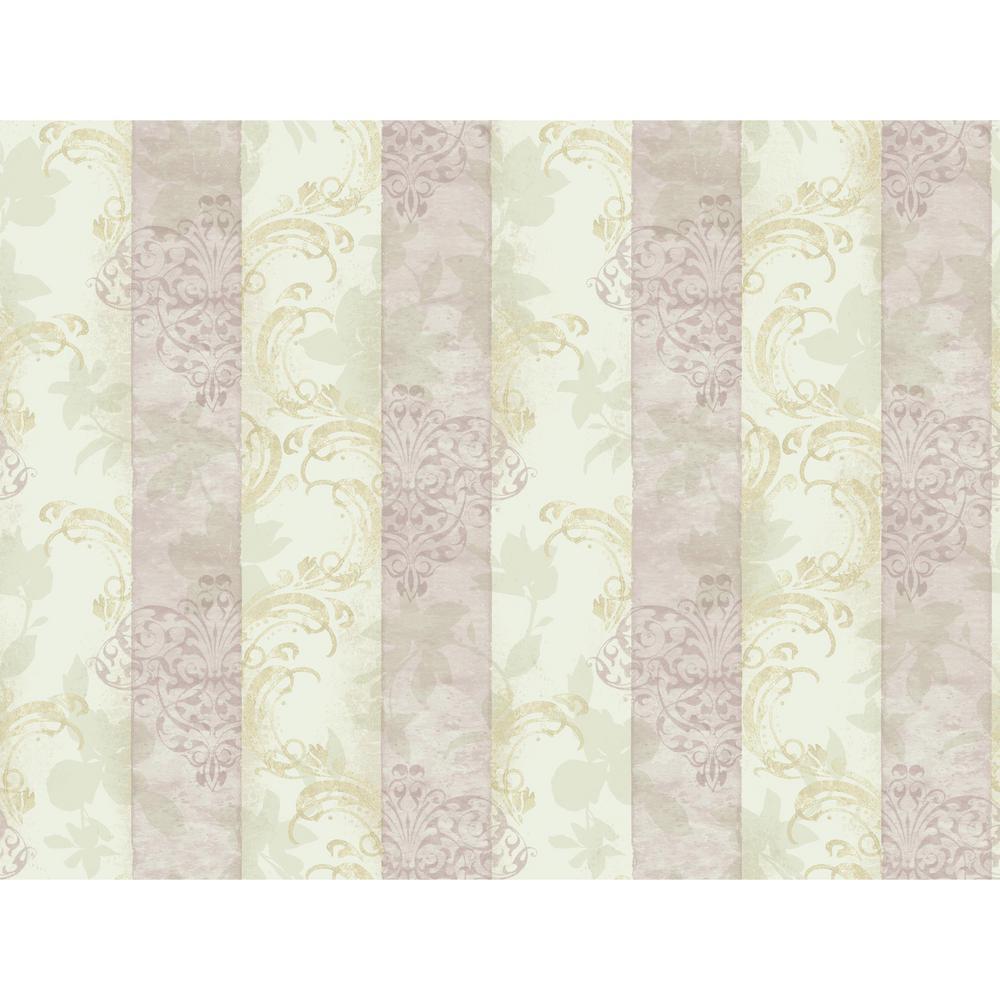Charlotte Layered Stripe Wallpaper