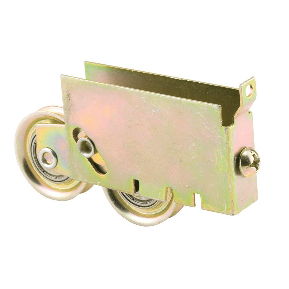 Prime-Line Sliding Door Tandem Roller Assembly, 1-1/2 in. Steel Ball Bearing, 11/16 in. x 1-3/4 in. Housing