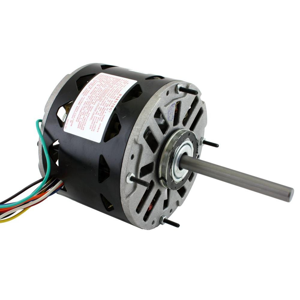 Hvac Motors Parts Accessories The Home Depot Blower Resistor Motor And Wiring To Components 1 3 Hp
