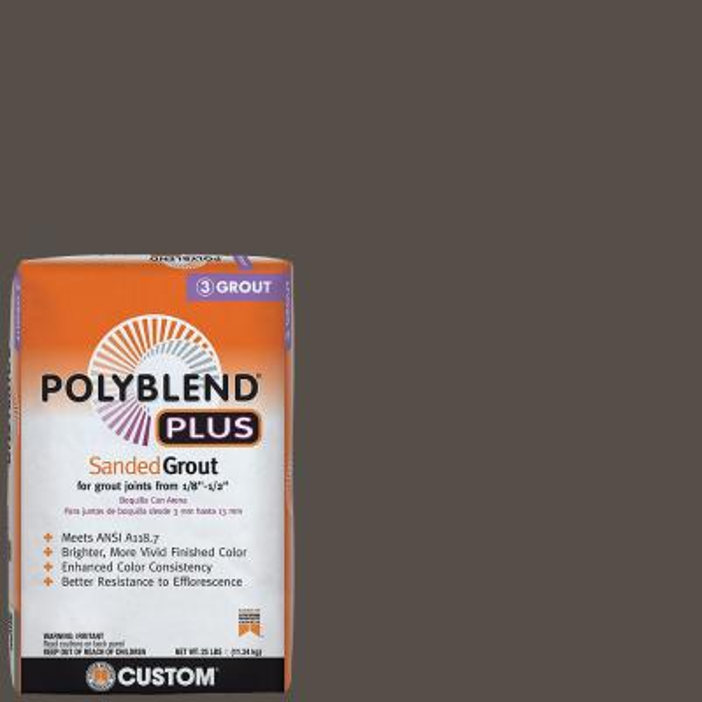 Polyblend Plus #540 Truffle 25 lb. Sanded Grout