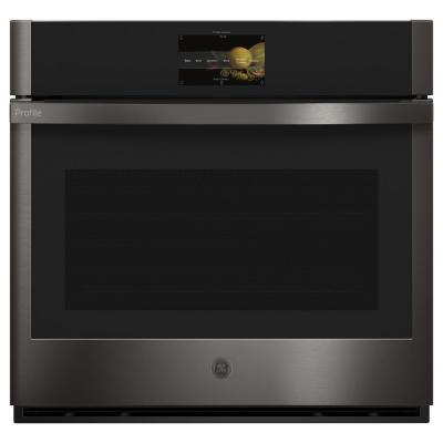 Samsung 30 In Single Electric Wall Oven With Steam Cook Flex Duo And Dual Convection In Fingerprint Resistant Black Stainless Nv51k7770sg The Home Depot