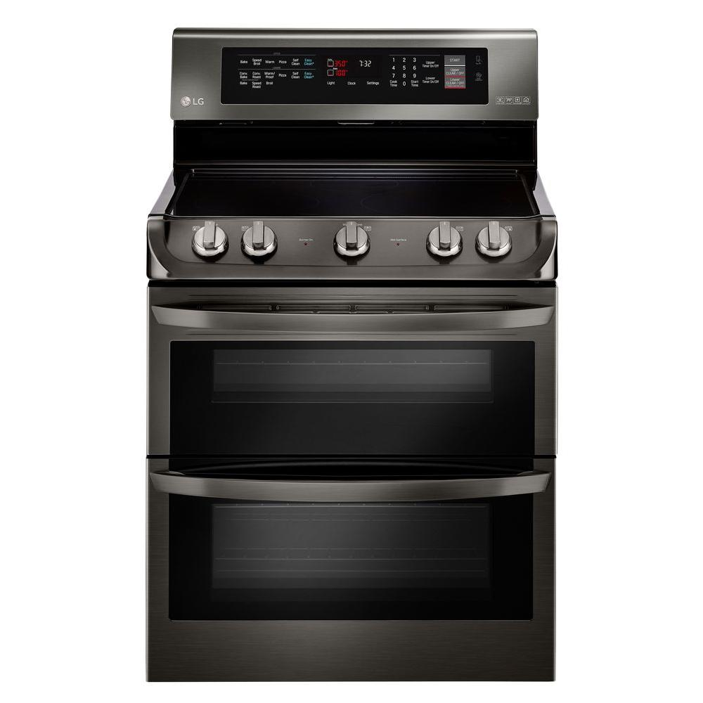 Electric Ranges And Ovens ~ Kitchenaid in cu ft double oven electric range
