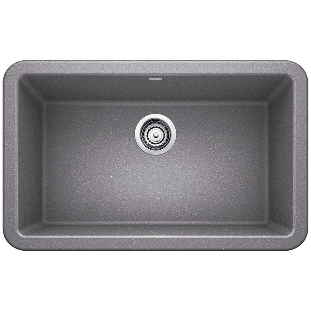 kitchen sinks composite blanco ikon apron front granite composite 29 in single 2996