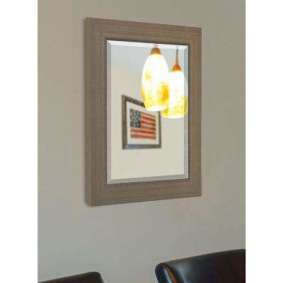 65 in. x 30 in. Champagne Colville Floor Mirror