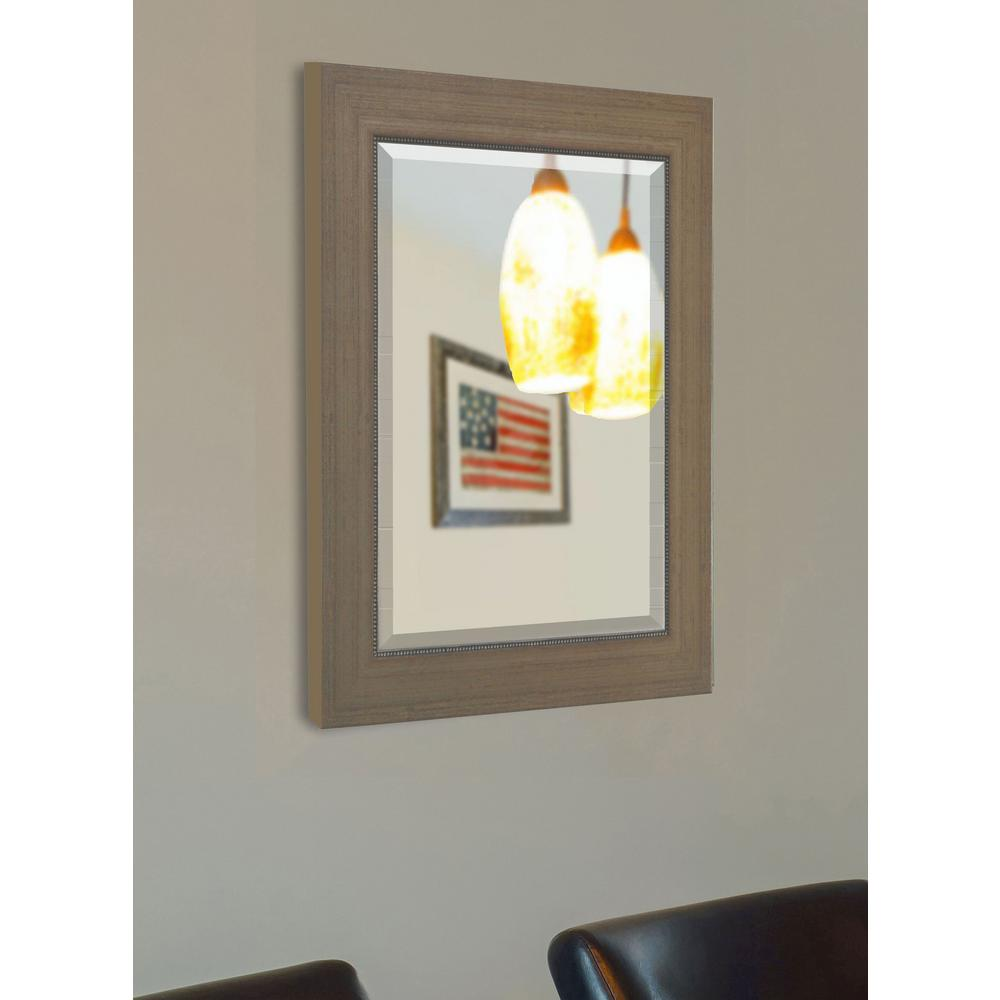 65 in. x 30 in. Champagne Colville Floor Mirror-R081T - The Home Depot