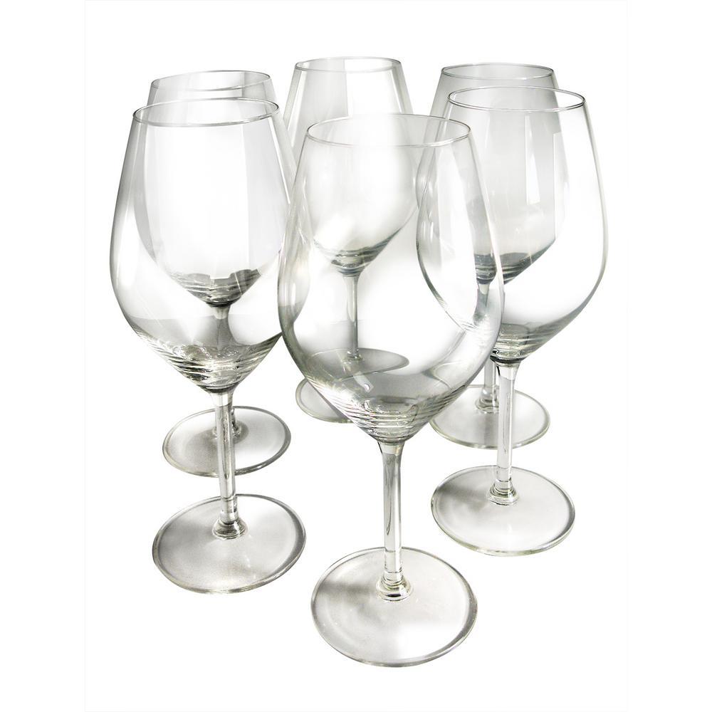 Illuminati White Wine Glasses (Set of 6)