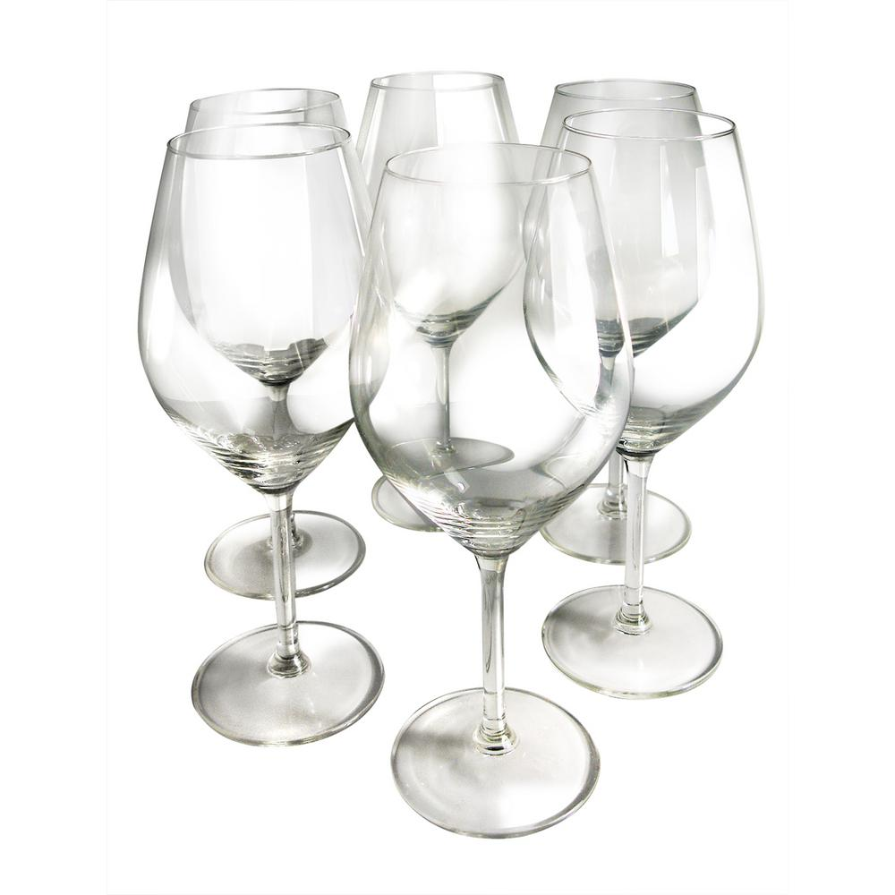 Epicureanist Illuminati White Wine Glasses (Set of 6)