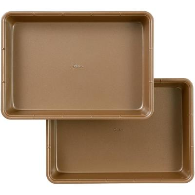 9 in. x 13 in. Ceramic-Coated Non-Stick Oblong Pan (Set of 2)