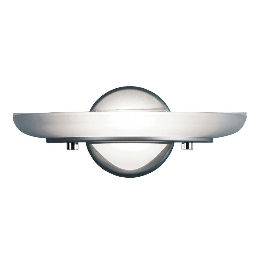 Eurofase Flair Collection 1-Light Platinum Wall Sconce-DISCONTINUED