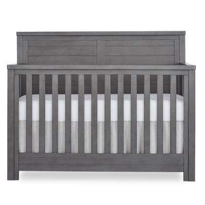 Belmar Rustic Grey Flat 5-in-1 Convertible Crib