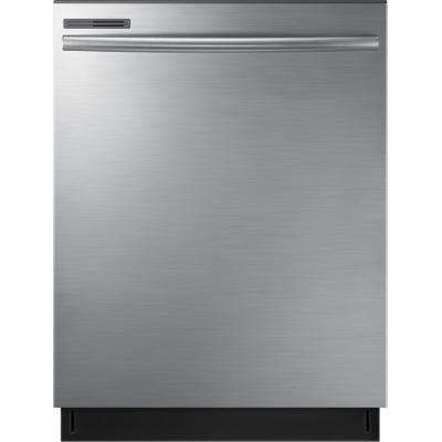 24 in. Top Control Dishwasher with Stainless Steel Interior Door and Plastic Tall Tub in Stainless Steel