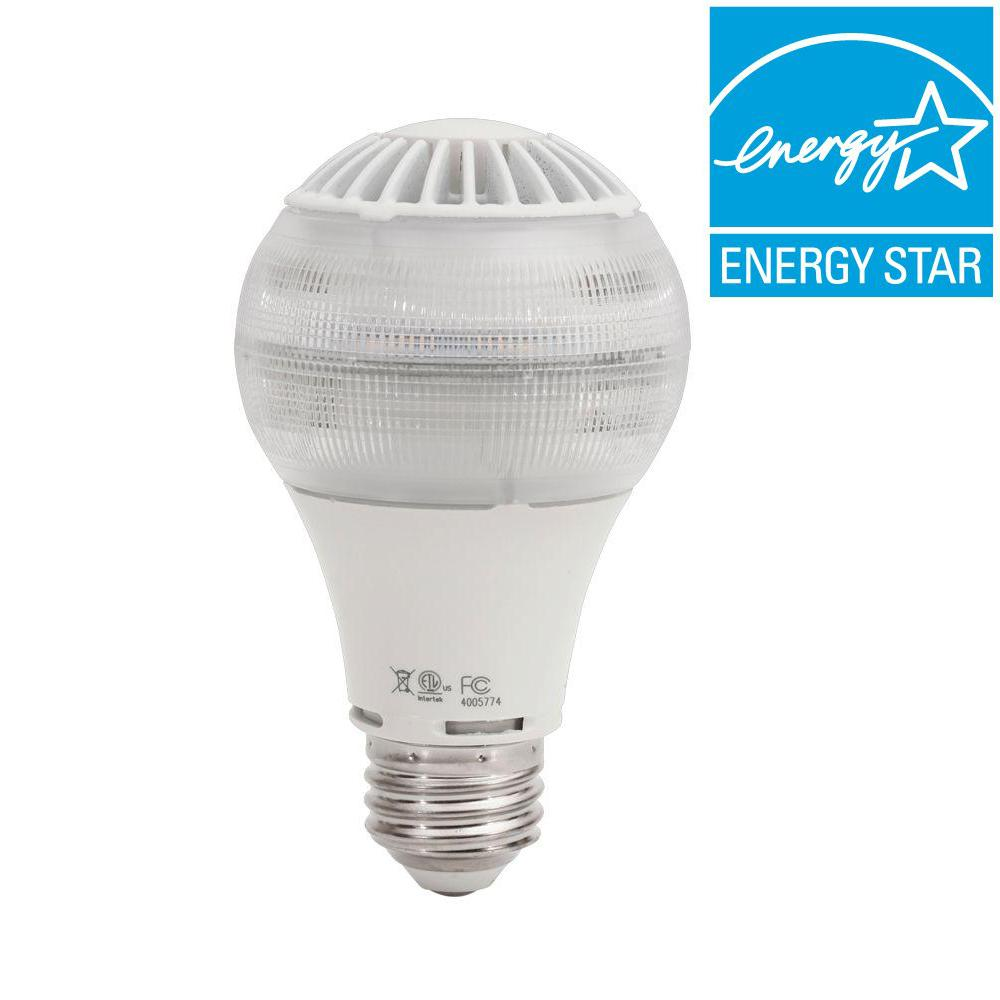 EcoSmart 40W Equivalent Bright White (3,000K) A19 LED Light Bulb