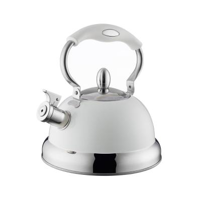 Living Cream 10.5-Cups 85 fl. oz. Stove Top Kettle
