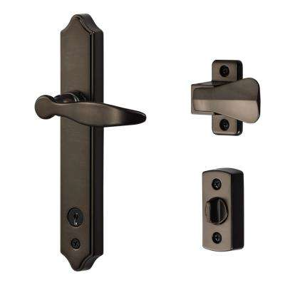 ML Lever Set with Keyed Deadbolt (USA Oil Rubbed Bronze)