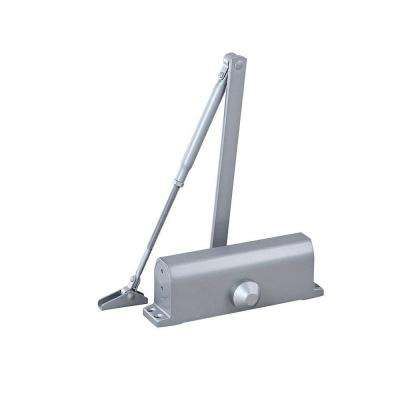 Surface Mounted Door Closure Fixed Power in Silver (Size 4)
