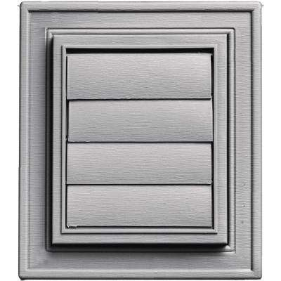 Square Exhaust Siding Vent #016-Gray