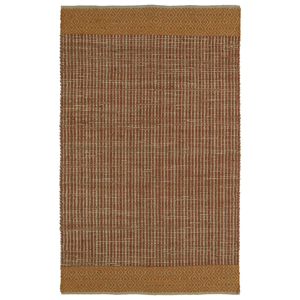 Colinas Paprika 8 ft. x 10 ft. Reversible Area Rug