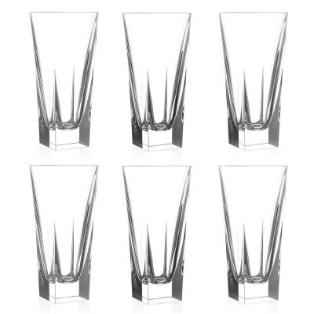 12 fl. oz. RCR Fusion Crystal Highball Glass (Set of 6)