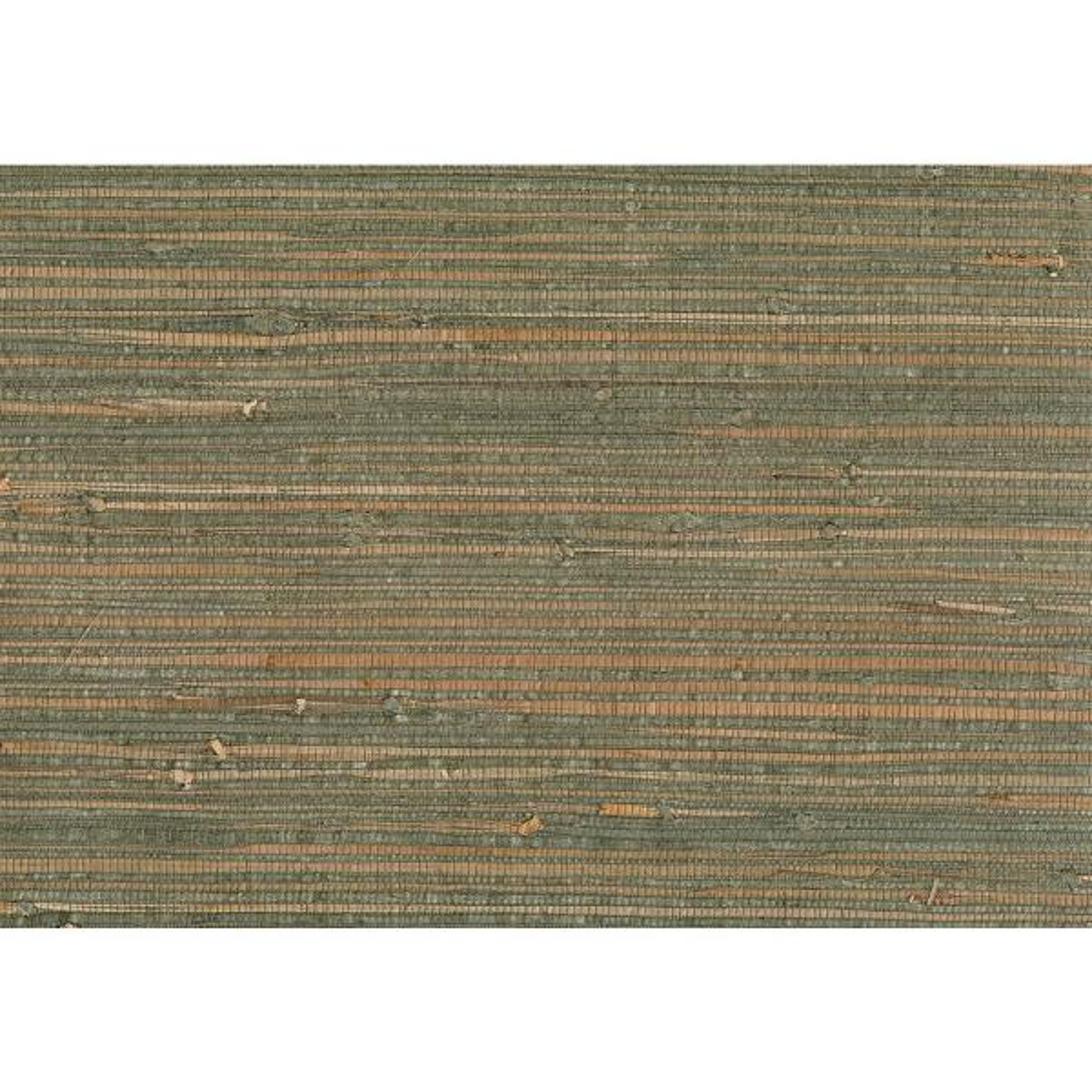 Kenneth James 72 sq. ft. Kohaku Sage Grasscloth Wallpaper 53-65610