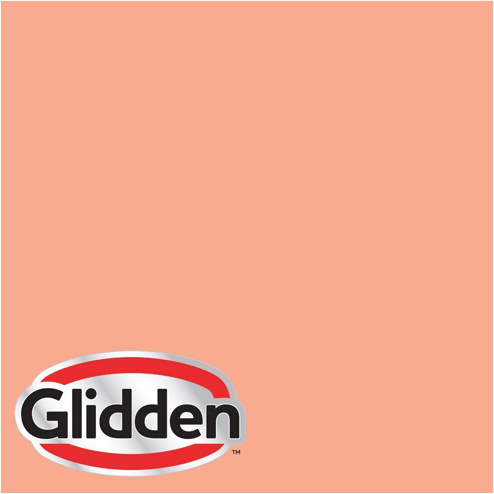 Glidden Premium 8 oz  #HDGO02U Apricot Ice Semi-Gloss Interior Paint Sample