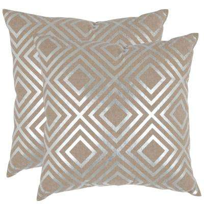 Chloe Metallics Pillow (2-Pack)