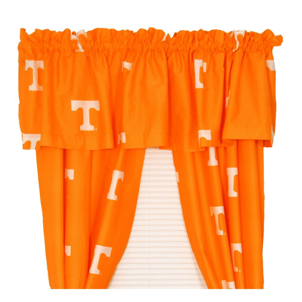 42 x 63 College Covers Syracuse Orange 63 Curtain Panels Set with Tiebacks Team Colors