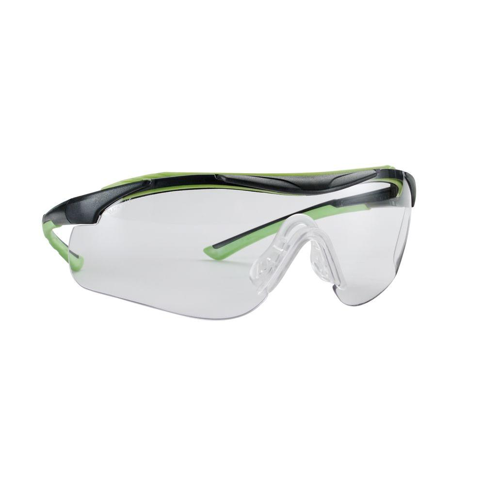 Sports Inspired Design Clear Anti-Frog Lenses Performance Safety Glasses (Case